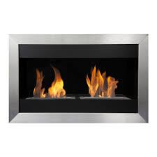 modern built in ethanol fireplaces modern blaze