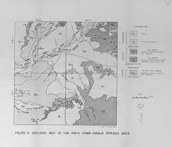 Uofa Map The Geology Of The Pinta Dome Navajo Springs Helium Fields Apache