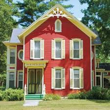 red exterior houses june touch up exterior paint a year u0027s