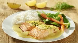 comment cuisiner le pavé de saumon pavé de saumon sauce beurre blanc recette knorr
