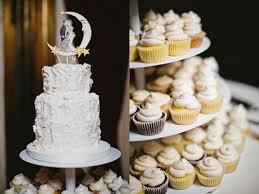 moon cake topper wedding ruffled