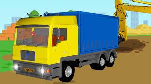 the big truck u0026 the excavator construction trucks video world