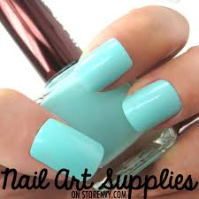 mint blue green nail polish lacquer dream closet pinterest