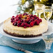 Lemon Cheesecake Decoration Orange And Cranberry Cheesecake Woman And Home