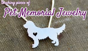 pet memorial necklace 9 touching pieces of pet memorial jewelry