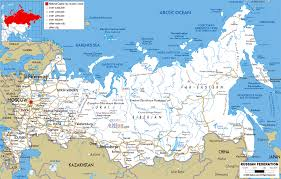 Road Map Of The Usa by Large Road Map Of Russia With Cities And Airports Russia