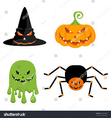 Halloween Flying Ghost Projector by Evil Green Ghost Witch Hat Pumpkin Stock Illustration 708924640