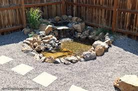 Backyard Pebble Gravel Patio Dreams