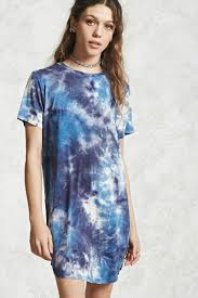 tie dye t shirt dress forever 21 2000238927