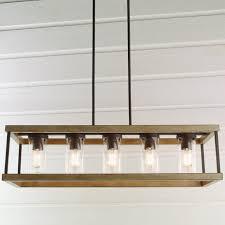 Rectangular Chandelier Indoor Outdoor Rectangular Rustic Chandelier Shades Of Light