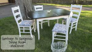 How To Build Dining Room Chairs Garbage To Gorgeous Episode 10 Shabby Chic Dining Room Makeover
