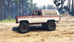 K5 Chevy Blazer Mud Truck - k5 blazer for spin tires