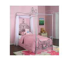 Girls Twin Princess Bed by Disney Princess Canopy Ebay