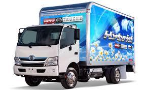 toyota brands toyota u0027s largest heaviest hybrid hino 195h truck