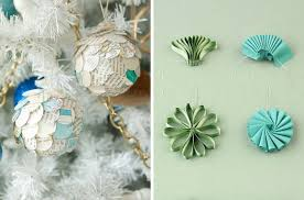 how to make christmas tree decorations with paper home design