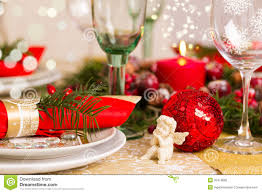Holiday Table Decorations by Red White Gold Table Setting Stock Photos Images U0026 Pictures
