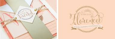 Wedding Stationery Sets Florence Wedding Stationery Kits Paperknots