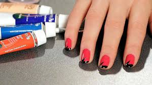 nail art 32 magnificent nail art with tape photos concept easy
