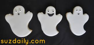 cute ghost cookies for halloween suz daily