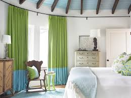 Home Office Curtains Ideas Astounding Lime Green Curtain Panels Decorating Ideas Gallery In