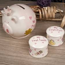Keepsake Piggy Bank Baby Gifts For Girls A Cute And Functional List Keepsakes