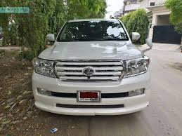 used toyota land cruiser 2008 used toyota land cruiser for sale at al ward motors lahore