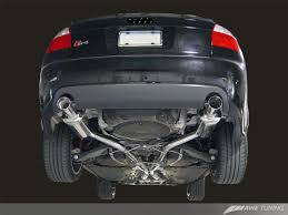 audi s4 exhaust awe tuning cat back track edition exhaust for 2003 05 audi s4 b6