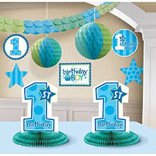 1st birthday boy 1st birthday boy decorating kit party accessory toys