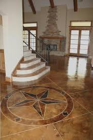 light stained concrete floors light colored stain scored like oversized tile for the home