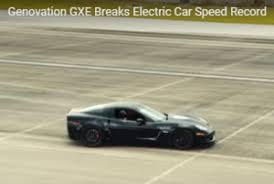 2006 corvette top speed electric corvette the panacea for green car fans