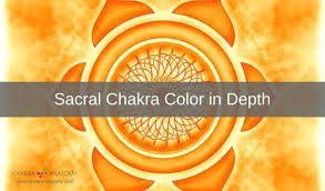 orange and color sacral chakra color meanings