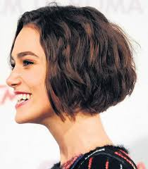 vies of side and back of wavy bob hairstyles celebrity hairstyles new posh bob wavy hairstyles keira knightley
