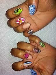 crazy nails make up and nails pinterest crazy nails