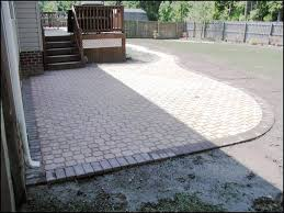 Red Brick Patio Pavers by Amazing Small Paver Patio With Ideas Pavers Design Eaganbackyard