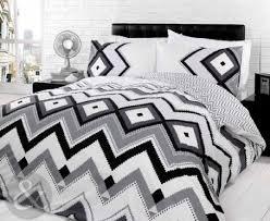 Black Duvet Cover King Size Aztec Duvet Cover Set Contemporary Bedding Bed Sets Monochrome