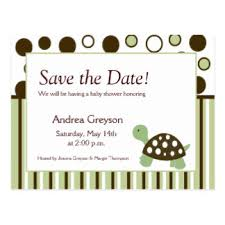 baby shower save the date custom baby shower save the dates postcards zazzle ca