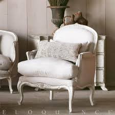 Bergere Home Interiors Eloquence La Belle Gesso Oyster Highlight Bergere Armchair