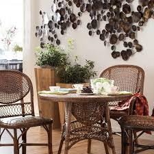 deco en zinc palecek indoor outdoor deco leaf decor bronze