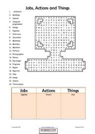 esl jobs occupations worksheets english vocabulary printable