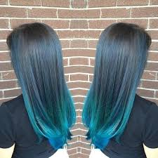 hombre hairstyles 20 captivating blue hair color designs pastel ombre balayage