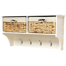 wall shelf with drawers shabby chic mounted shelving units forhoja