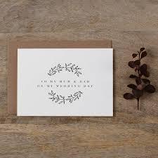 Wedding Day Card For Groom Mum And Dad U0027 Wedding Day Card By Kismet Weddings