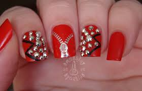 burgandy nail art images nail art designs