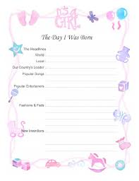 free printable baby book scrapbook pages 8 5 11 12x12