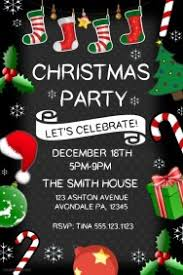 christmas posters customizable design templates for christmas party event postermywall