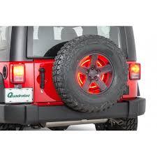 3rd brake light led ring rugged ridge 11585 04 3rd brake light led ring for 97 18 jeep