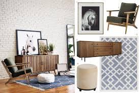 Mid Century Modern Living Room Furniture The Kkh Guide To Mid Century Modern Furniture And Decor