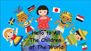 hello to all the children of the world edited version
