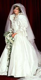 princess wedding dresses uk princess diana s wedding dress designer elizabeth emanuel s