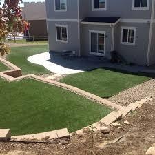 Synthetic Grass Backyard Turf Colorado Springs